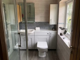 New bathroom suite